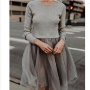 Dresses & Skirts - Tulle Skirt Plus Sweater Dress